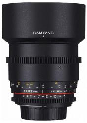 Samyang 85mm T1.5 VDSLR AS IF UMC II (Nikon)