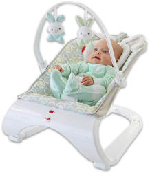 Fisher-Price Seat Comfort - Nyuszis hajlított babafotel (DKF64)