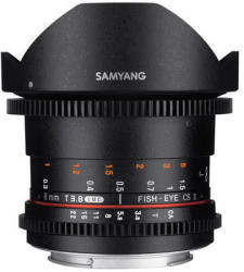 Samyang 8mm T3.8 VDSLR UMC Fish-eye CS II (Mikro)