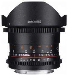 Samyang 8mm T3.8 VDSLR UMC Fish-eye CS II (Nikon)