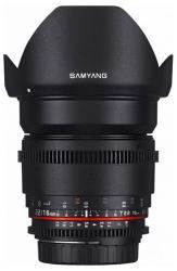 Samyang 16mm T2.2 VDSLR ED AS UMC CS II (Canon)