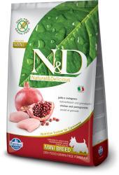 Farmina N&D Low Grain Adult Mini Chicken & Pomegranate 2x2,5kg