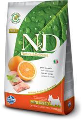 Farmina N&D Low Grain Adult Mini  Fish & Orange 2x2,5kg