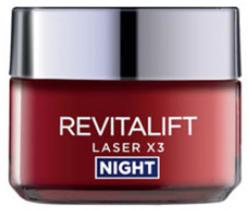 L'Oréal Revitalift Laser X3 éjszakai regeneráló ránctalanító krém 50ml