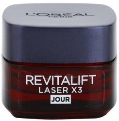 L'Oréal Revitalift Laser X3 intenzív öregedésgátló nappali arckrém 15ml