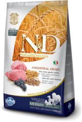 Farmina N&D Low Grain Adult Medium Lamb & Blueberry 12kg