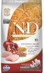 Farmina N&D Low Grain Adult Medium Chicken & Pomegranate 2,5kg
