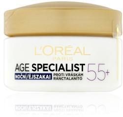 L'Oréal Age Specialist 55+ Night ránctalanító helyreállító éjszakai krém 50ml