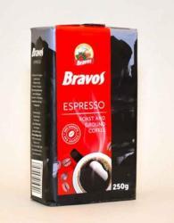 Bravos Espresso, őrölt, 250g