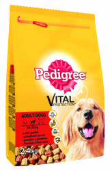 Pedigree Vital Protection Adult Beef & Poultry 2,4kg