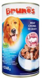 Brunos Beef in gravy 1,24kg