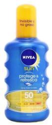Nivea Sun Protect & Refresh átlátszó napozó spray SPF 50 200ml