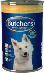 Butcher's Natural Nutrition - Chicken & Rice 390g