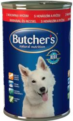 Butcher's Natural Nutrition - Beef & Rice 390g