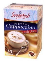 Sweetab Cappuccino Light 3in1, 10 x 10g