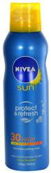 Nivea Sun Protect & Refresh átlátszó hűsítő napozó spray SPF 30 200ml