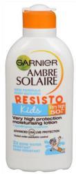 Garnier Ambre Solaire Resisto Kids naptej gyermekek érzékeny bőrére SPF 50+ 200ml
