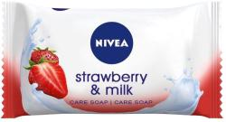 Nivea Strawberry & Milk krémszappan (90 g)