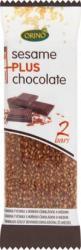 ORINO Gluténmentes mézes szezámmagos szelet csokis bevonattal 45g