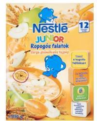 Nestlé Junior Ropogós Falatok 5 gabonás sárga gyümölcsös tejpép 12 hónapos kortól - 250g