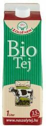 Zöldfarm Bio dobozos tej 3,5% 1l