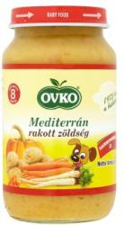 OVKO Mediterrán rakott zöldség 8 hónapos kortól - 220g