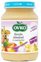 OVKO Banán almával és joghurttal 5 hónapos kortól - 190g