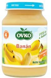 OVKO Banán bébidesszert 4 hónapos kortól - 190g