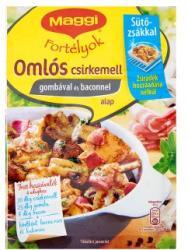 Maggi Fortélyok Omlós Csirkemell Gombával És Baconnel Alap (30g)