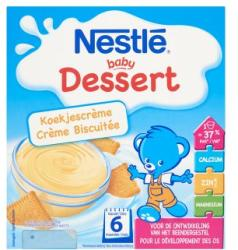 Nestlé Baby Dessert Kekszes babapuding 6 hónapos kortól 4x100 g