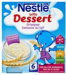 Nestlé Baby Dessert Vaníliás durumbúzadarás babapuding 6 hónapos kortól 4x100g