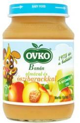 OVKO Banán almával és őszibarackkal 7 hónapos kortól - 190g