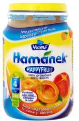 Hamé Hamánek HappyFruit Alma-sárgabarack-őszibarack (gluténmentes) 4 hónapos kortól - 190g