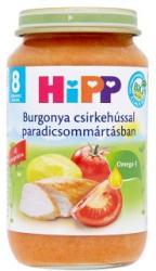 HiPP Burgonya csirkehússal paradicsommártásban 8 hónapos kortól - 220g