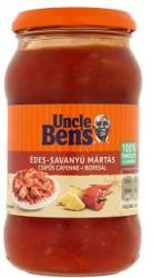 Uncle Bens Édes Savanyú Mártás Csípős Cayenne-i Borssal (400g)