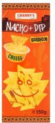 Granny's Barbecue Chips Cheddar Sajtszósz (150g)