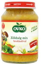 OVKO Zöldség mix brokkolival 7 hónapos kortól - 190g