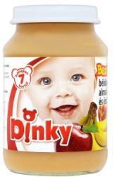 Dinky Banán-alma-őszibarack bébidesszert 7 hónapos kortól - 190g