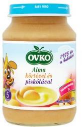 OVKO Alma körtével és piskótával (gluténtartalmú) 5 hónapos kortól - 190g
