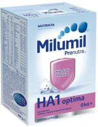 Milumil HA1 Optima anyatej-helyettesítő tápszer 0 hónapos kortól - 600g