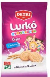 DETKI Lurkó Tejes Omlós Keksz Kalciummal (180g)