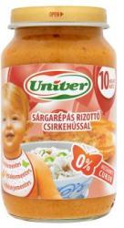 Univer Sárgarépás rizottó csirkehússal 10 hónapos kortól - 220g