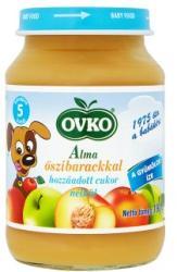OVKO Alma őszibarackkal hozzáadott cukor nélkül 5 hónapos kortól - 190g