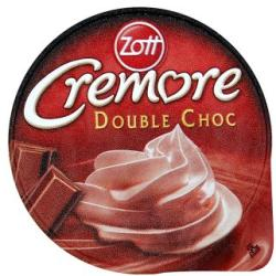 Zott Cremore Double Choc puding 200g