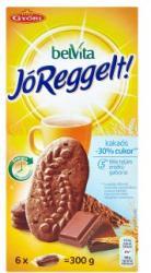 belVita Jóreggelt Kakaós Gabonás Omlós Keksz Csokoládédarabkákkal (6x50g)