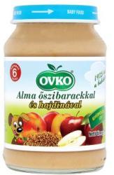 OVKO Alma őszibarackkal és hajdinával 6 hónapos kortól - 190g