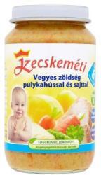Kecskeméti Vegyes zöldség pulykahússal és sajttal 8 hónapos kortól - 220g