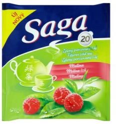 Saga Málna Zöld Tea 20 filter