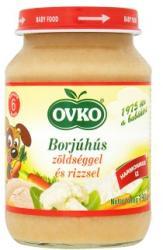 OVKO Borjúhús zöldséggel és rizzsel 6 hónapos kortól - 190g