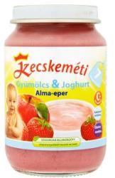Kecskeméti Gyümölcs & Joghurt Alma-eper bébidesszert 7 hónapos kortól - 190g